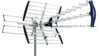 Free HDTV !  Antenna Setup Installation and Review E Sky Install Outdoor