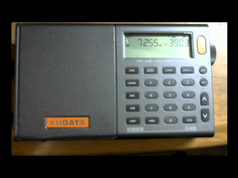 2010DFS Live test 7255 kHz Voice of Nigeria