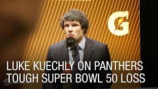 Luke Kuechly on Panthers Tough Super Bowl 50 Loss