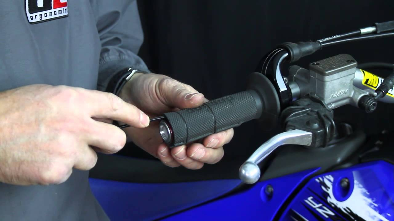 Ge Side By Side Wiring Diagram How To Remove A Motorcycle Grip Undamaged Youtube