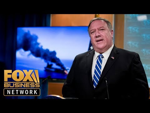 Pompeo: Iran is responsible for oil tankers attack in Gulf of Oman