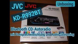 JVC Autoradio KD-R992BT mit Bluetooth Freisprecheinrichtung Unboxing