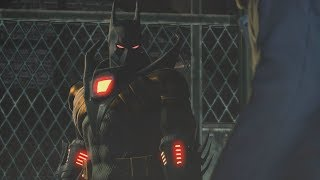 Batman: Arkham Origins (PS3)(Azrael Knightfall Suit Walkthrough)[Part 4] - GCPD [720p60fps]