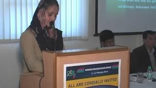 Arshi SHOAIB, Aligarh Muslim University, INDIA