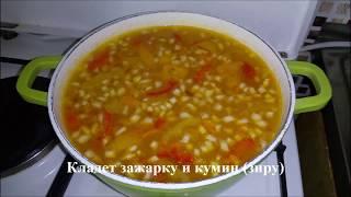 Постные блюда Как приготовить вкусный гороховый суп