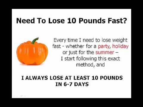how to lose 10 pounds fast unbelievable 7day weight loss