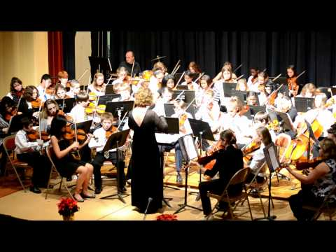 Williamsports Curtin Middle School Winter Orchestra Concert