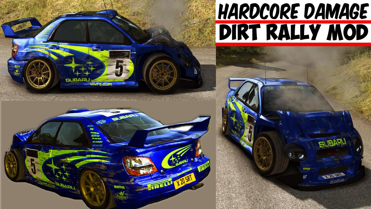 hardcore damage mod download dirt rally hd youtube. Black Bedroom Furniture Sets. Home Design Ideas