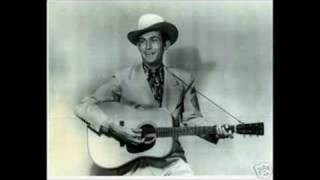 Hank Williams Sr. - Lonely Tombs - RARE!