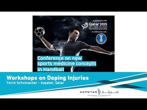 Workshops on Doping Control by Yorck Schumacher - Aspetar, Qatar.