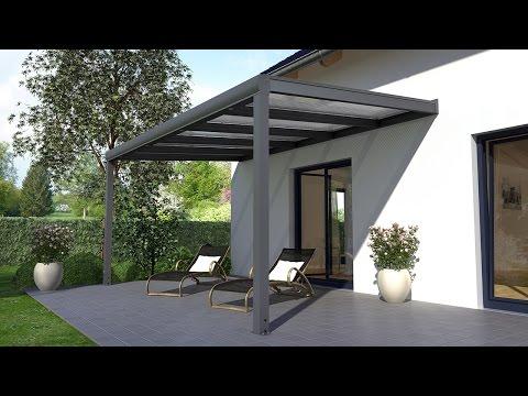 Alu Terrassenüberdachung Aufbauanleitung (REXOpremium)