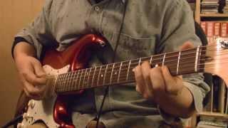 沢田知可子 会いたいのギターによる コード弾き.