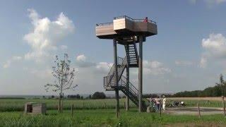 Fietsen in Limburg, grensland met België