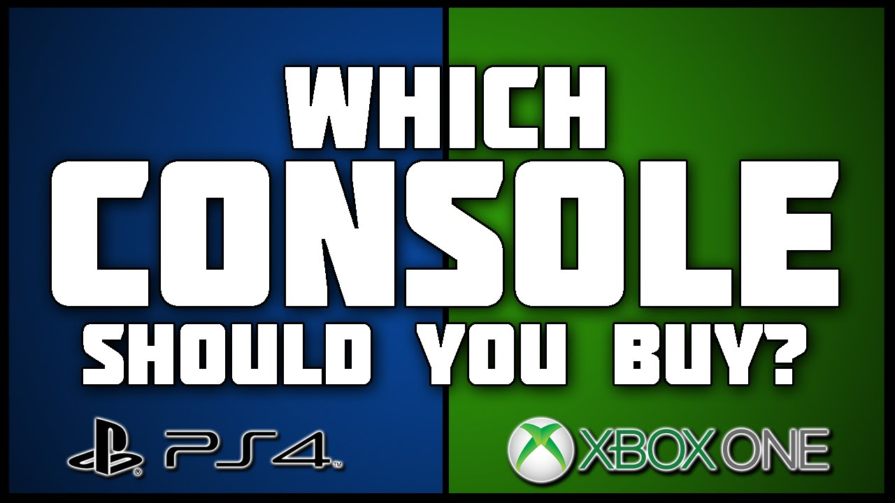which console should you get xbox one or ps4 youtube. Black Bedroom Furniture Sets. Home Design Ideas