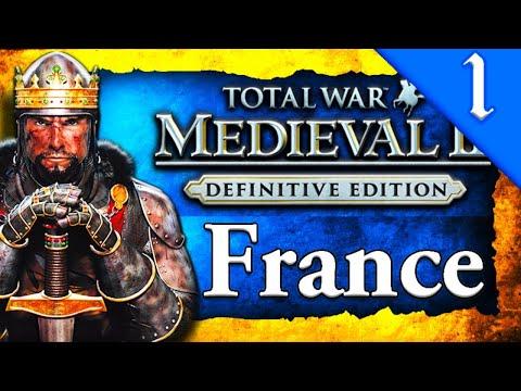 KINGDOM OF FRANCE! Medieval 2 Total War: France Campaign Gameplay #1
