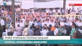 Finike Portakal Festivali Başladı