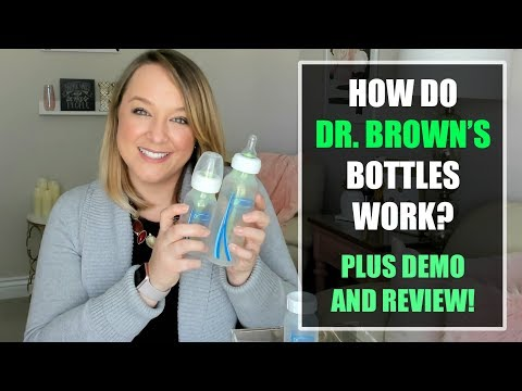 How Do Dr. Brown's Bottles Work? (With Review & Demo!)