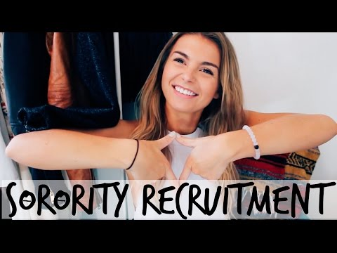 Sorority Formal Recruitment: Tips, Advice, What to Expect + My Expierence