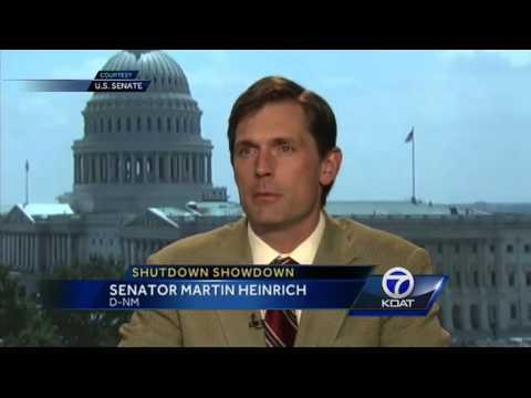 NM senator calls government shut down