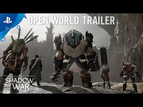 Middle-earth: Shadow of War - Open World Trailer | PS4