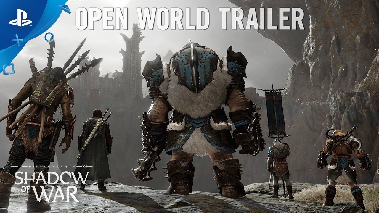 Middle Earth Shadow Of War Open World Trailer Ps4 Youtube