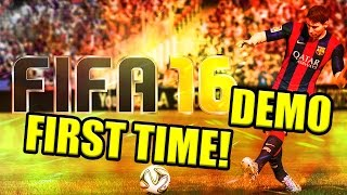 FIFA 16 Demo | FUT Draft | FIRST TIME!
