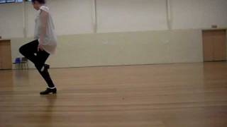 ISTD Advanced 1 Tap - Blues dance sequence (newer)