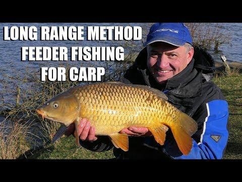 Long Range Method Feeder Fishing For Carp
