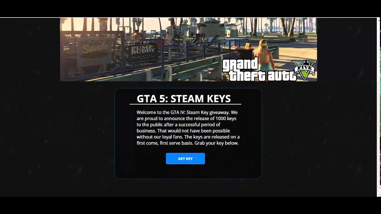 free gta 5 pc steam key