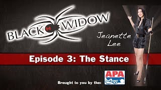 Jeanette Lee Pool Lessons and Billiard Instruction - Pool and Billiard Stance