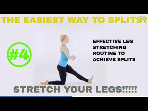 Get Your Splits Class #4 - Stretch Your Legs