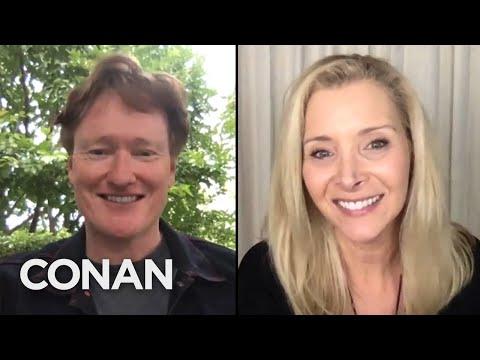 "Lisa Kudrow Gives Conan An Update On The ""Friends"" Reunion - CONAN on TBS"