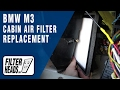Cabin air filter replacement - BMW M3 1995-1999