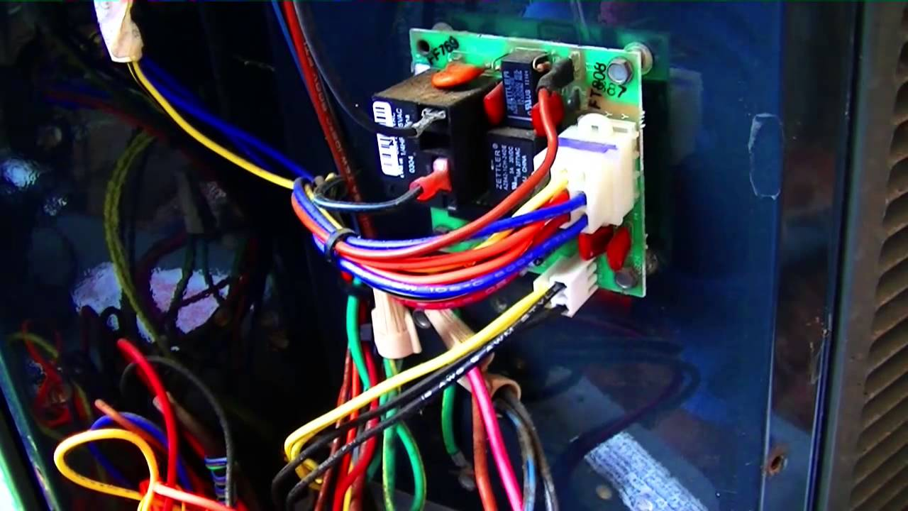 hvac service trane xr12 defrost failure [ 1280 x 720 Pixel ]