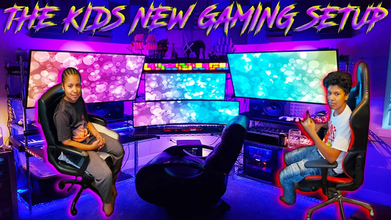 Download SURPRISING MY BOYS WITH A INSANE RGB PRO GAMING SETUP