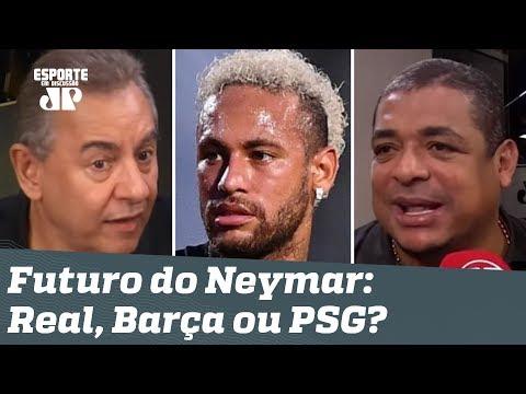 Afinal: Neymar vai pro Real Madrid, Barcelona ou ficará no PSG? Veja DEBATE!