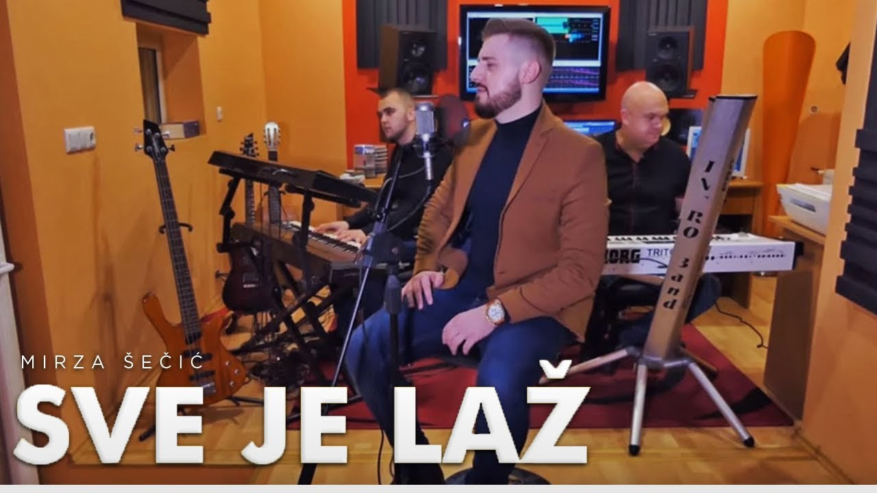 Mirza Šečić - Sve je laž (Cover)