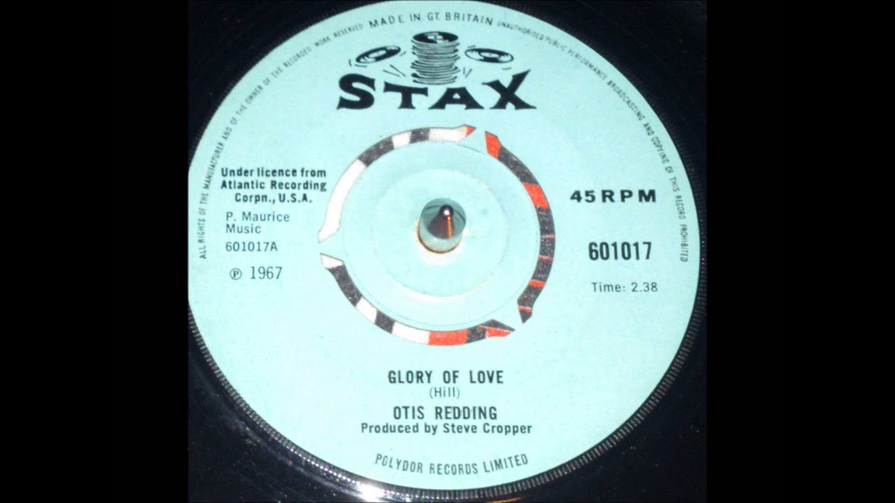 Otis Redding Glory Of Love Lyrics