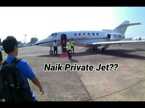 AG Vlog (3) NAIK PRIVATE JET???
