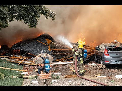 One person killed in house explosion in Kitchener, Ont.