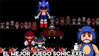 El Mejor Juego de Sonic.EXE?! - Probando Videojuegos Aterradores Sonic.EXE con Pepe el Mago (#4)