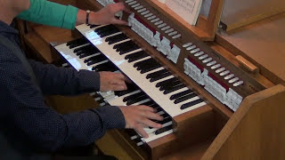 Willem van Twillert plays, Eugène Gigout, Toccata, Walcker-organ, Wildervank