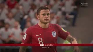 FIFA 18   2018 FIFA World Cup Russia - Group G Tunisia 🇹🇳 vs England 🏴