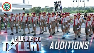 Pilipinas Got Talent Season 5 Auditions: Mabini Senior Scouts - Drill Performers