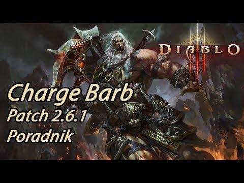 Diablo 3 RoS - Charge Barb Top GR Solo Build (Patch 2.6.1)