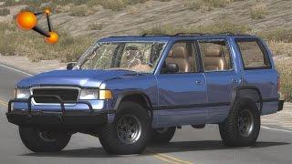 BeamNG.Drive Mod : Gavril Roamer V8 (Crash test)