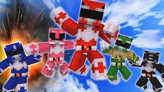 Minecraft POWER RANGERS Team Up! (Minecraft Bed Wars Roleplay)