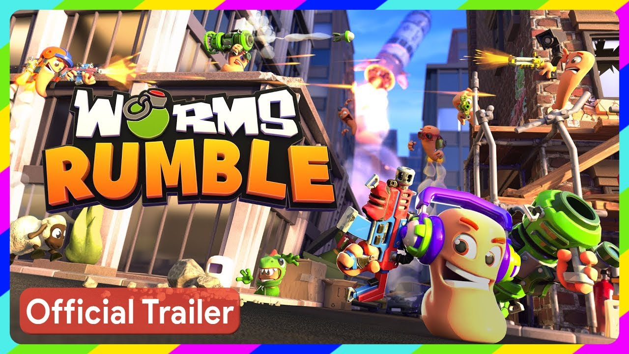Game Trailer Official | Worms Rumble – Announcem