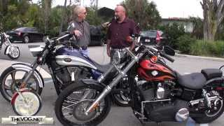 Victory Vegas vs. Harley-Davidson Dyna Wide Glide Motorcycle Comparison