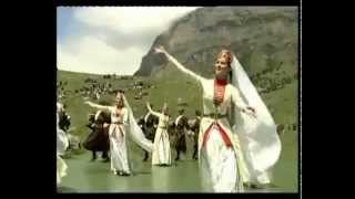 Traditional Ingush dance from the film Melodies of the Mountains by Sulambeka Mamilov